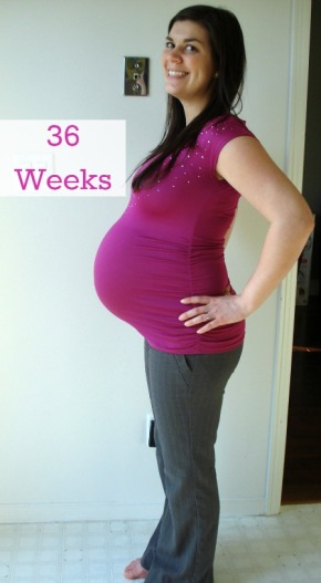My Pregnancy: 36 Weeks