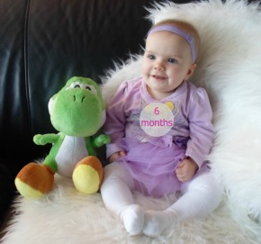 Baby Amy: 6Months