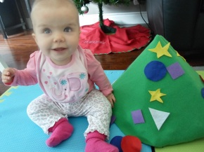 DIY: Baby's Own Christmas Tree