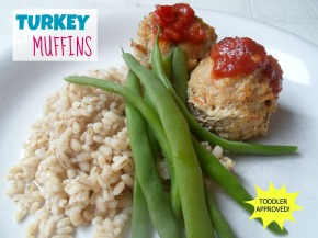 Toddler Approved: Turkey Muffins